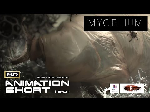 "CGI 3D Animated Short Film ""MYCELIUM"" Fascinating Animation by ESMA"