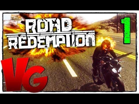 Road Redemption 2017 ☺ прохождение [60Fps Ultra] #1 - Road Rash возвращается!