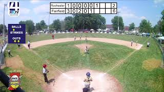 Town and Country 12U State Finals Game #11 Fairfield vs Rochester 7-28-19