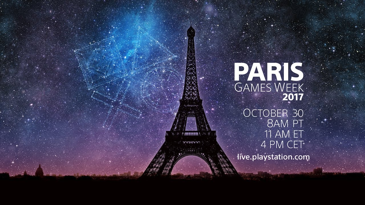 PlayStation retransmite en directo desde la Paris Games Week