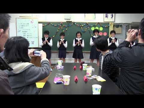 種子島の学校活動:古田小学校卒業生を祝う喜びを語る会2019年