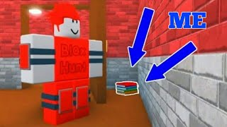 Playing Roblox  Blox Hunt.Codes/glitch/hiding spots #Subscribe for more codes