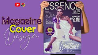 6091FREE LESSON | Create Essence Magazine Cover Challenge in Photoshop