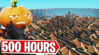 This FORTNITE MAP TOOK 500 HOURS TO BUILD...