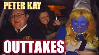 YouTube video E-card A collection of hilarious bloopers from Peter Kays Car Share featuring a laughing Guy Garvey and