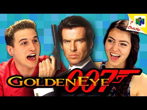 Watch GoldenEye 007 Teach Teens The Joys Of Split-Screen Gaming