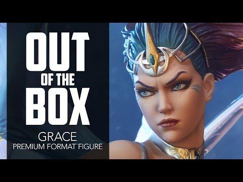 Grace Premium Format Figure - Aspen Comics - Unboxing - Sideshow