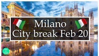 Milano la începutul crizei. Vlog de călătorie