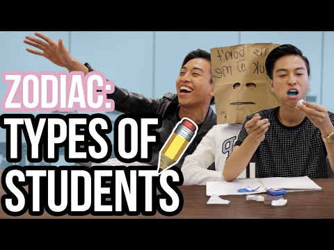 Zodiac Signs as Types of Students