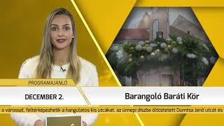 Programajánló / TV Szentendre / 2018.11.29.