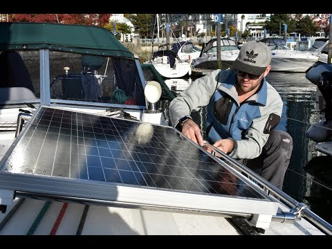 Tips - Sizing a Solar Panel Array on a Boat