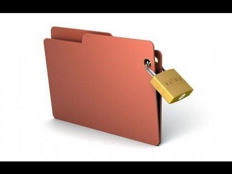 Желаете защитить папку паролем?