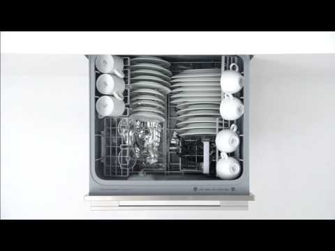 Fisher & Paykel Built In 60 Cm Dishwasher Fully DD60SCTHX9 - Ezkleen S/S Video 1