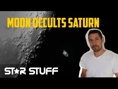 I Captured the Occultation of Saturn!
