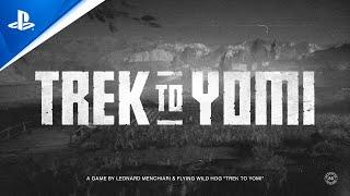 PlayStation Trek to Yomi - Announcement Trailer   PS4 anuncio