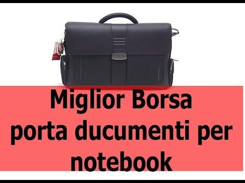 miglior borsa da uomo porta documenti e notebook recensione e unboxing