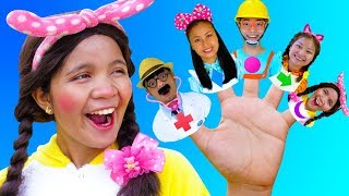 Shapes Finger Family Song - Nursery Rhymes for Kids #2