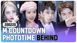 [4K] 200220 IZ*ONE, Weki Meki, Dreamcatcher, KARD, PENTAGON  ... M COUNTDOWN PHOTOTIME BEHIND