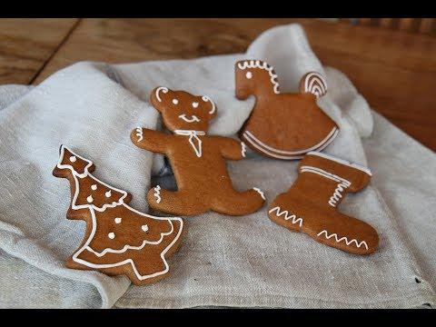 Weihnachtliche Dinkel-Honig-Lebkuchen