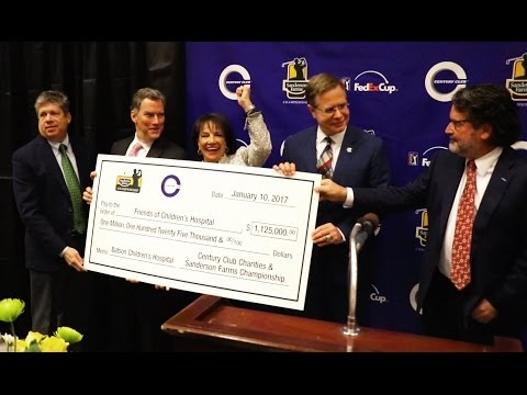 Video: Century Club Charities sets record, again, with $1.125M gift to Friends