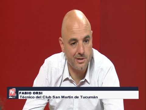 QUE PIENSA FABIO ORSI DT DE SAN MARTIN DE TUCUMAN