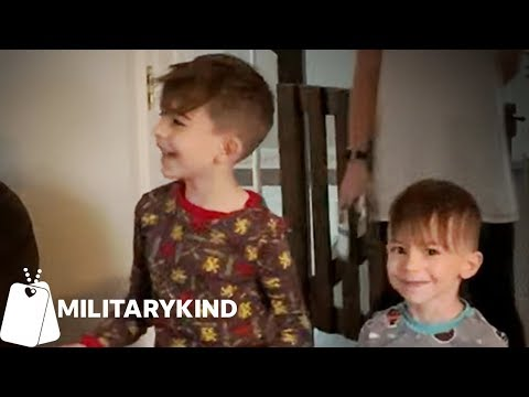 Little boys left speechless at the end of this scavenger hunt | Militarykind