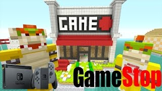 Minecraft Wii U - Nintendo Fun House - Bowser's Video Game! [67]
