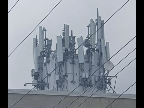 Dangerous EMF Readings from Mega 5G Tower