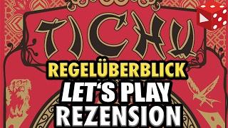 Tichu - Regelüberblick, Let's Play & Rezension - drei Live Runden - deutsch