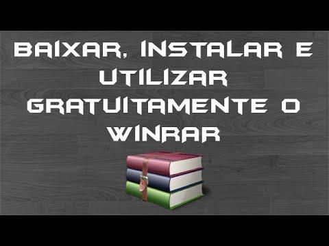 Video Baixar, instalar e utilizar gratuitamente o WinRAR em Português Brasil (pt-BR) - download direto