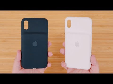 Hands-On With Apple's New Smart Battery Cases