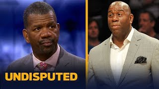 Rob Parker is confident Magic Johnson mishandled the Lakers: 'This is a mess' | NBA | UNDISPUTED