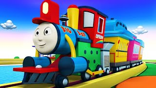 Big Thomas Trains For Kids - Thomas The Train Toy Factory Cartoon - Videos For Children
