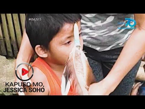 [GMA]  Kapuso Mo, Jessica Soho: Bata sa Quezon, natusok ng dart pin sa noo!