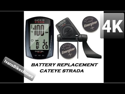 The Battery Replacement For Cateye Strada Wireless Bike CycloComputer CC-RD300W. [[NO ADS]]