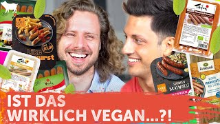Der ultimative vegane Wurst Test