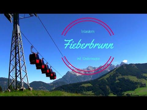 Wandern mit Kinderwagen - Fieberbrunn Streuböden