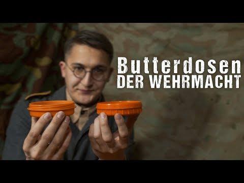 Butterdosen / Fettbüchse der Wehrmacht [4K]