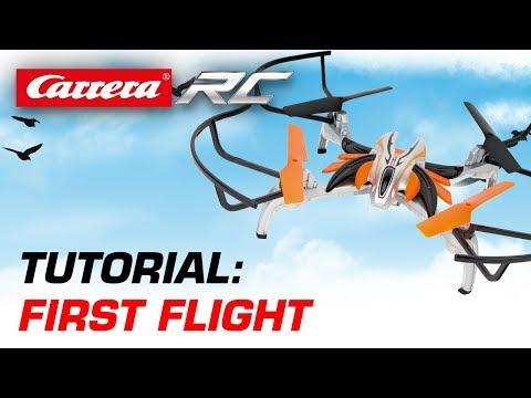 Carrera RC Quadrocopter - First Flight (Guidro)