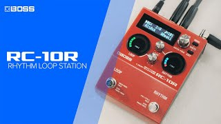 BOSS RC-10R Rhythm Loop Station - Performance by Jay Leonard J