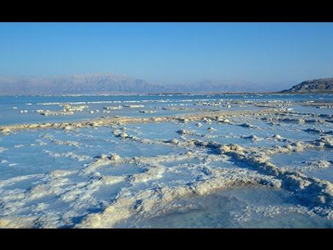 סרטון מדהים של ים המלח בצילום רחפן