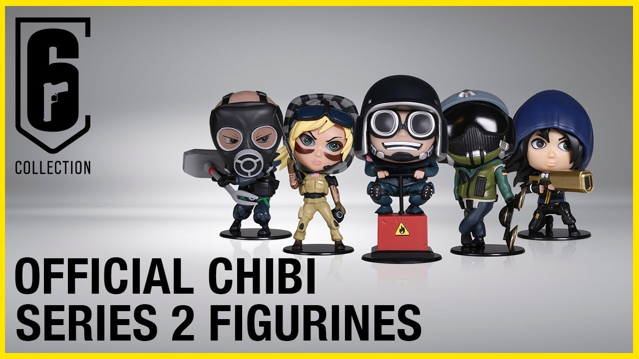 Six Collection Chibi Series 2 Figurines Available Now