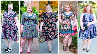 American Standard Floral Multi Color Stylish Plus,Size Skater Dresses Designs 2020