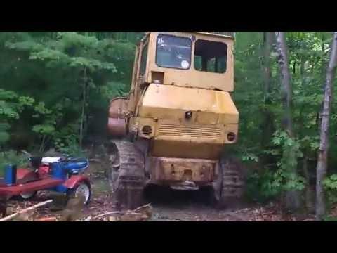 Caterpillar 955 Track Loader Behold She Runs Day - смотреть