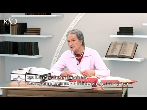 25e dimanche ordinaire A - 2e lecture