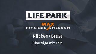 Training mit Tom 03 – Rücken/Brust – Überzüge
