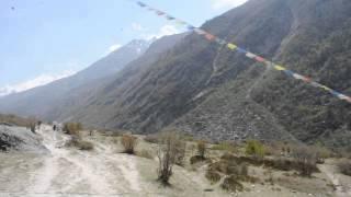 preview picture of video 'Udsigten fra Langtang, Nepal'