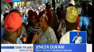 Kizaza chaibuka mjini Voi baada ya wakaazi kupata maiti ndani ya Jeneza dukani