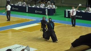 2019 단별검도대회 남자 3단부 128강 - 문주성 vs 이성찬 [검도V] kendov