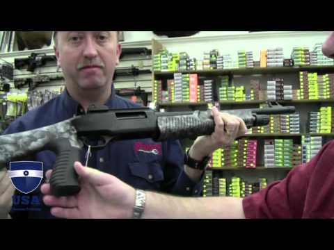 Weatherby Pump Tactical Shotgun with Reaper Camo